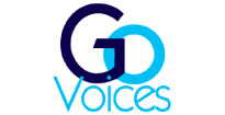 Susie Valerio Global Voice with a Tropical Touch Go Voices Logo