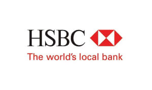 Susie Valerio Global Voice with a Tropical Touch HSBC Logo