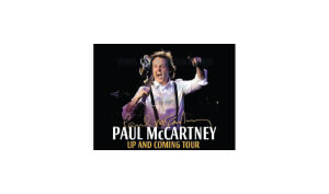 Susie Valerio Global Voice with a Tropical Touch Paul McCartney Tour Logo